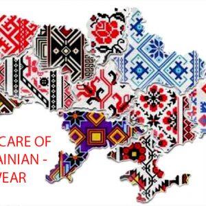 TAKE CARE OF UKRAINIAN – WEAR VYSHYVANKA!