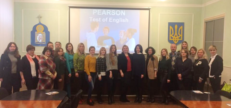 GETTING TO KNOW PEARSON TEST OF ENGLISH