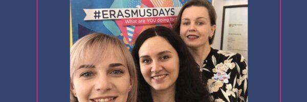 #ErasmusDays2020 in Ohiienko University: how it was