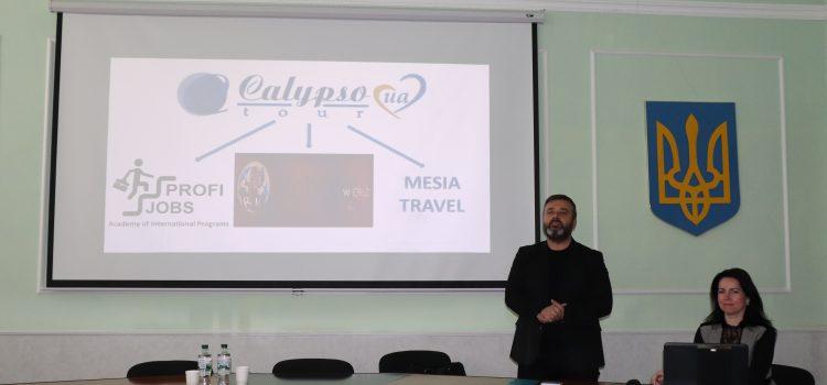 INTERNSHIP PROGRAM FROM «CALYPSO TOUR UA»