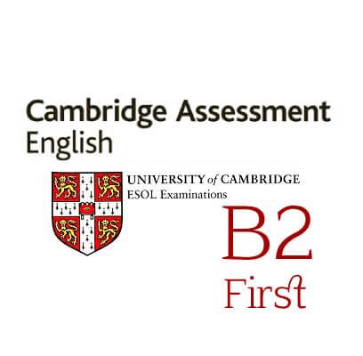 PREPARATION FOR TAKING INTERNATIONAL EXAM B2 FIRST