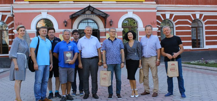 HIGH-LEVEL MEETING WITH REPRESENTATIVES OF EUROPEAN WEIGHTLIFTING FEDERATION